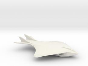 Oda-class Shuttle in White Natural Versatile Plastic
