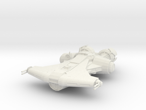 Old Republic Jedi ship in White Natural Versatile Plastic