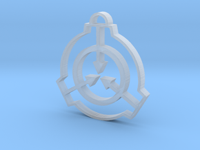 SCP Pendant in Smooth Fine Detail Plastic