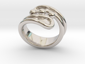 Threebubblesring 25 - Italian Size 25 in Platinum