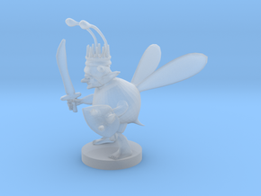 Goblin Bard Bee King in Smooth Fine Detail Plastic