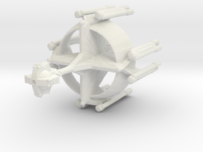 Star Sailers - K'mpec C9 - Dreadnaught in White Natural Versatile Plastic