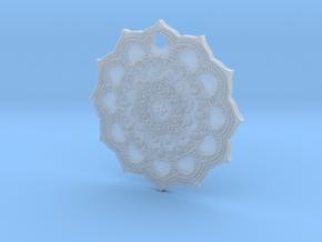 Mandallion in Smooth Fine Detail Plastic
