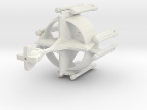 Star Sailers - Kahless C8-C9 - Dreadnaught in White Natural Versatile Plastic