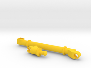 Grinder Mixer Auger Replacement in Yellow Processed Versatile Plastic: 1:64 - S