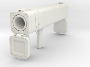 TF2 Black Box Rocket Launcher (Life Size) in White Natural Versatile Plastic