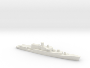 ITS Bergamini-Class Frigate (1961), 1/2400 in White Natural Versatile Plastic