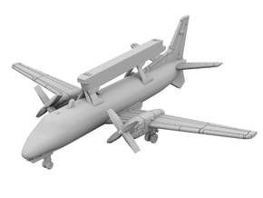 1:700 - SAAB 340 AEW in Smoothest Fine Detail Plastic