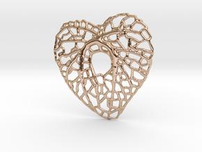 Leaf Heart in 14k Rose Gold
