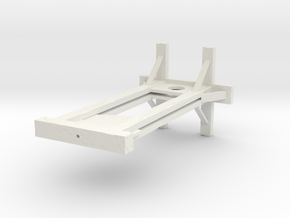 Medieval Guillotine in White Strong & Flexible