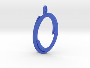 Portal Logo - Valve Pendant in Blue Processed Versatile Plastic