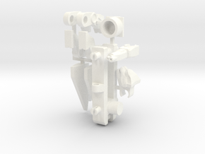 Leader Lion's Power-Up in White Processed Versatile Plastic