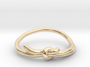 KNOT RING in 14k Gold Plated