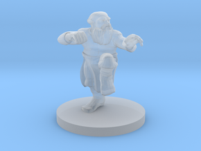 Dwarf Monk in Smooth Fine Detail Plastic