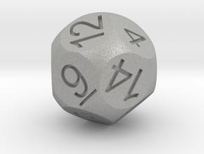D14 Sphere Dice in Aluminum