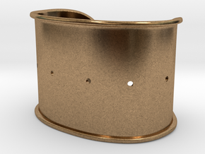Cuff Band Only - Original Dimensions in Natural Brass