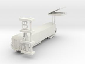 "BK-02: ""KIT BKLYN"" by Midnight Commercial in White Natural Versatile Plastic"