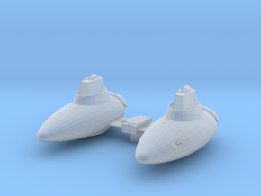 Cloud Pod Car  in Smooth Fine Detail Plastic