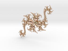 JkDragonG in 14k Rose Gold Plated Brass