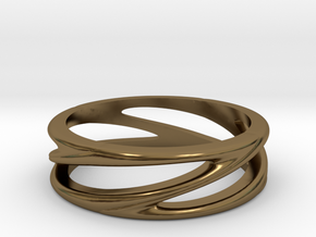 Matel Ring in Polished Bronze