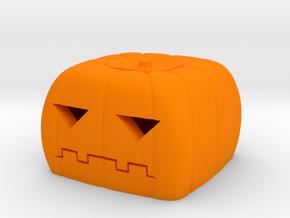 Halloween pumkin keycap 2 - cherry MX in Orange Processed Versatile Plastic