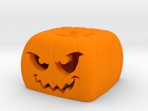 Halloween pumkin keycap 4 - cherry MX in Orange Processed Versatile Plastic