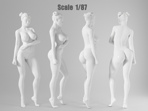 1:87 Sexy little girl in 2cm-006 in Frosted Extreme Detail