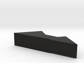 SD Mountain in Black Natural Versatile Plastic
