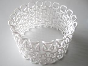 Bracelet test 1.5 mm in White Natural Versatile Plastic