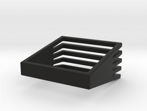 Square Array in Black Natural Versatile Plastic: 8 / 56.75