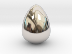 The Golden Egg in Platinum: Small