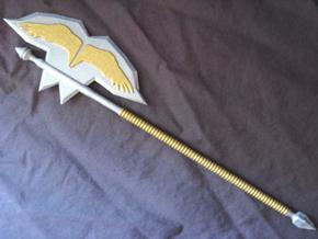 battle Axe in White Natural Versatile Plastic