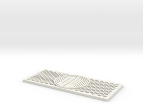 Dr Who RC4WD D90/D110 Grill in White Natural Versatile Plastic