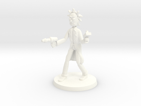 Mad Doc Mick in White Processed Versatile Plastic