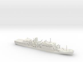 1/1200 RFA Fort Class in White Natural Versatile Plastic