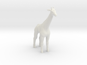 Printle Thing Giraffe - 1/24 in White Natural Versatile Plastic