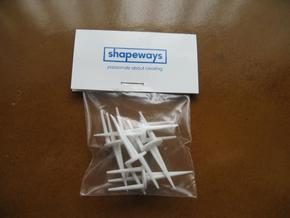 High Performance Golf Tees (5) in White Natural Versatile Plastic