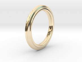 Trinity in 14k Gold Plated Brass: Small