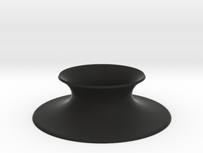 "The Universe Sphere Base ""Round"" in Black Premium Versatile Plastic"