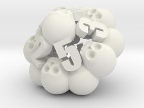 Ossuary d10 in White Premium Strong & Flexible