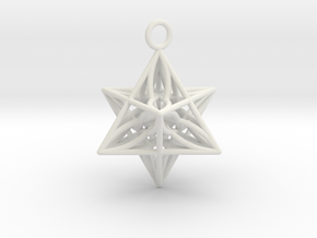 Pendant_Star of Life in White Premium Strong & Flexible