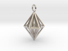 Pendant_Tripyramid in Platinum