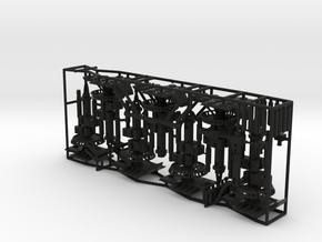deagostini Millennium Falcon Landing Gear Rod able in Black Premium Versatile Plastic