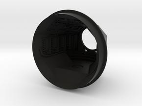 DeAgo Millennium Falcon Model Gunner compartment in Black Premium Versatile Plastic