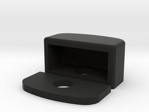 Defender Plate Light in Black Premium Versatile Plastic
