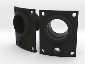 JK Flush Mount Tail Lights in Black Premium Versatile Plastic