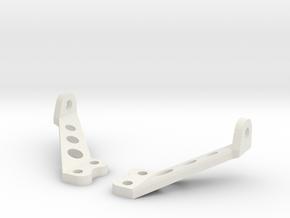 JK LED Hood Mount in White Premium Versatile Plastic