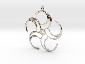 5pyyesque in Rhodium Plated Brass