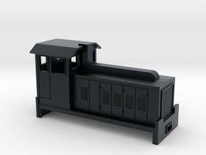 HOn30 Australian Sugar Cane Locomotive  in Black Hi-Def Acrylate