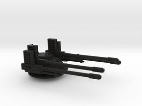 28mm APC Anti-aircraft turret in Black Premium Versatile Plastic